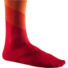 Mavic Graphic Stripes Calcetines, rojo